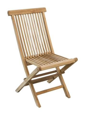Židle skládací MILÁN TEAK