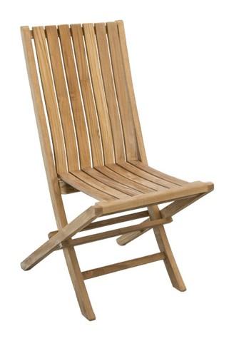 Židle skládací GLORY TEAK