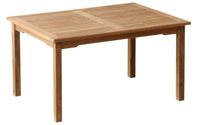Stůl WINNER TEAK 160x90