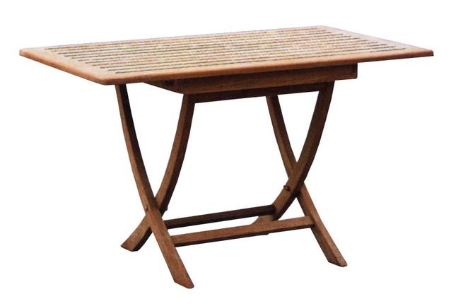Stůl skládací SMART TEAK 80x80