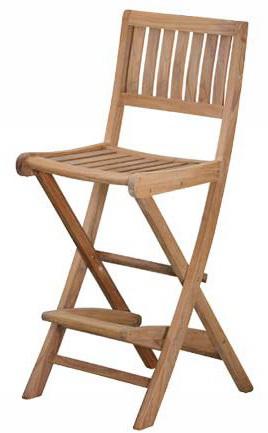 Barová židle ISLAND TEAK